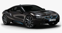2015 BMW i8 (Low Interior) 3D Model