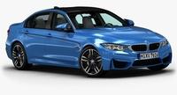 2015 BMW M3 3D Model