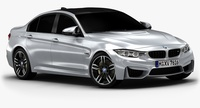 2015 BMW M3 (Low Interior) 3D Model