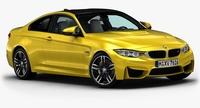 2015 BMW M4 3D Model