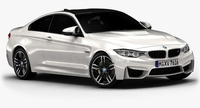 2015 BMW M4 (Low Interior) 3D Model