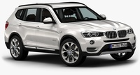 2015 BMW X3 3D Model