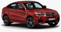 2015 BMW X4 3D Model