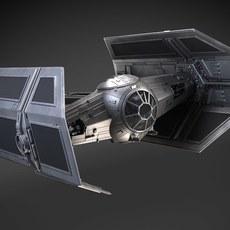 Star Wars Tie Fighter Advanced 3D Model