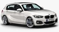 2016 BMW 1 Series 5-door 3D Model