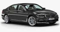 2016 BMW 7 Series 3D Model