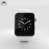 09 05 42 352 apple watch 42mm stainless steel case with white sport band 600 0007 4