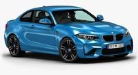 2016 BMW M2 3D Model
