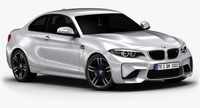 2016 BMW M2 (Low Interior) 3D Model