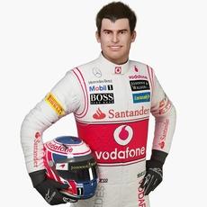 F1 Pilot 3D Model