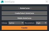 Free AnimCurve for Maya 1.0.0 (maya script)