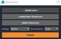 Free AnimCurve for Maya 1.0.0 (maya script)
