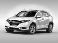 Honda HR-V (2016) 3D Model