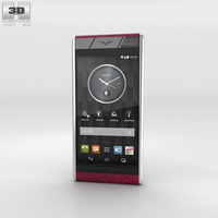 Vertu Aster Raspberry Ostrich 3D Model