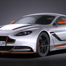 Aston Martin Vantage GT12 2017 3D Model