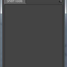 Shelf Tools - CustomShelf 0.1.0 for Maya (maya script)