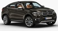 2015 BMW X6 3D Model