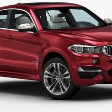 2015 BMW X6M 3D Model