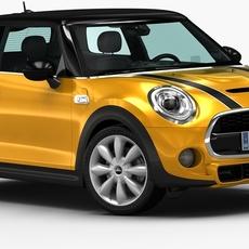 2015 Mini Cooper S 3D Model