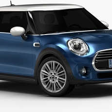 2015 Mini Cooper (Low Interior) 3D Model