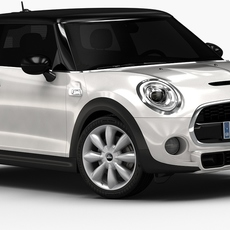 2015 Mini Cooper S (Low Interior) 3D Model