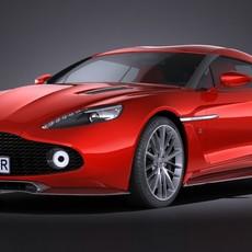 Aston Martin Vanquish Zagato 2017 3D Model