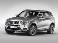 BMW X3 F25 (2015) 3D Model