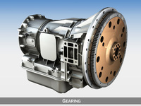 Automatic transmission - Gearing 3D Model
