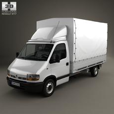 Renault Master Pickup 1997 3D Model