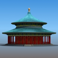 Chinese Building 16 3D Model
