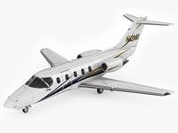 Hawker 400XP 3D Model
