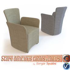 Chair NIDO CALLIGARIS 3D Model