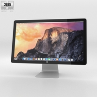 Apple Thunderbolt Display 27-inch 2014 3D Model