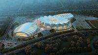 Grand Stadium 004 3D Model