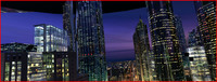 Modern City Animated 003 3D Model