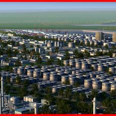 Refinery Port Harbour collection 1 3D Model
