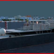 Refinery Port Harbour collection 4 3D Model