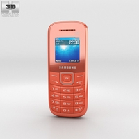 Samsung E1205 Orange 3D Model