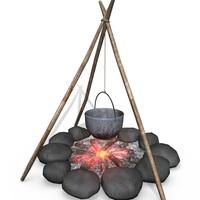 Campfire cover