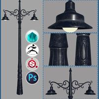 Street lamp cover