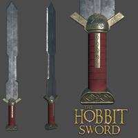 The hobbit sword cover