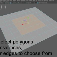 Tool round circle 0.1.0 for Maya (maya script)