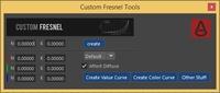 Free Cusrom Fresnel Tool for Maya 1.0.1 (maya script)