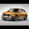 Audi Q2 (2017) 3D Model