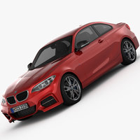 BMW M235i Coupe 2015 3D Model