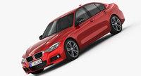 BMW 3-Series M Sport Package 2016 3D Model