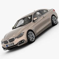 BMW 4 Series F32 Modern Line 2014 3D Model
