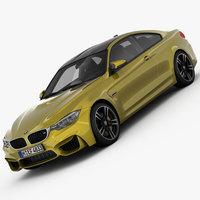 BMW M4 F82 2015 3D Model