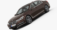 BMW 7-Series Long 2016 3D Model