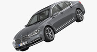 BMW 7-Series Design Pure Excellence 2016 3D Model